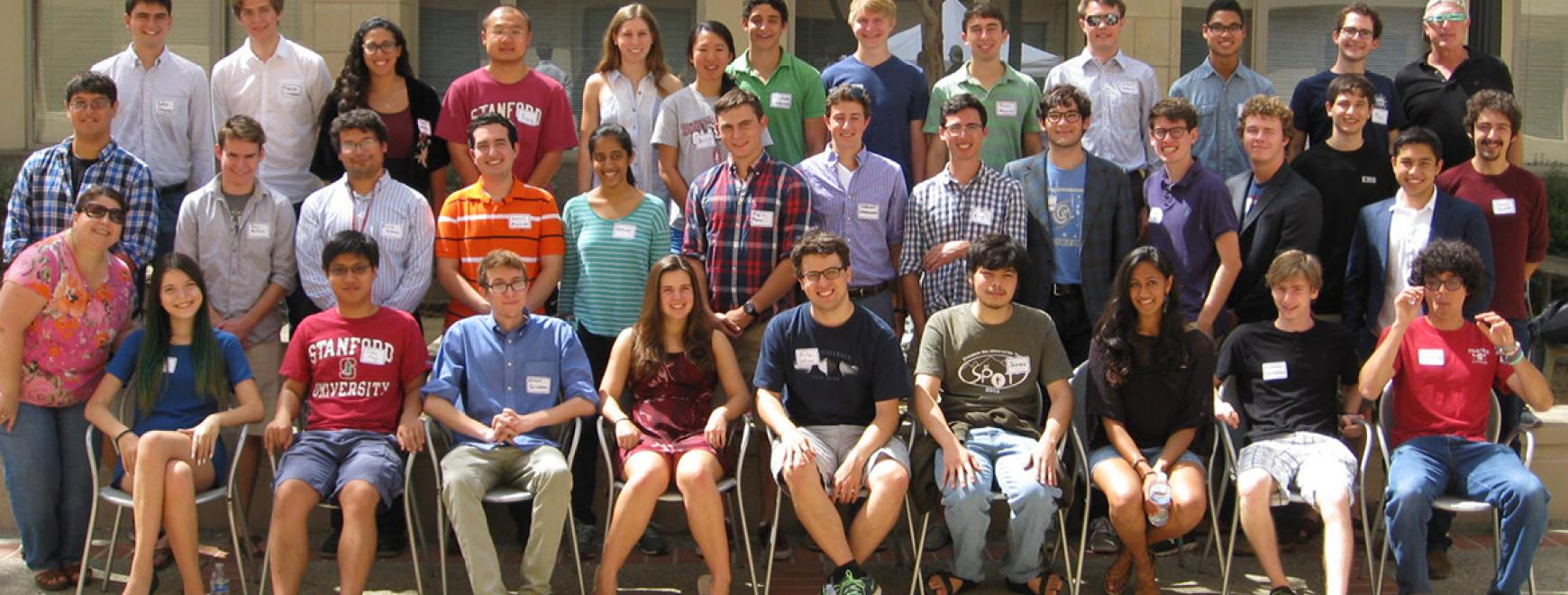 2015 undergraduate summer researchers in Physics